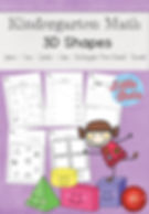 3D Shapes Worksheets Set suitable for kindergarten level or first grade. Learn to identify three dimensional shapes like cube, cone, cylinder, sphere, cuboid or rectangular prism and pyramid through various activities like matching and sorting as well as identifying these shapes in a mixture of other shapes.