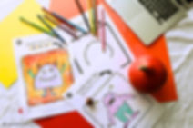 Create your own monster template and printable for preschoolers and first graders. This will be a fun art and literacy project, perfect for Halloween, rainy days or to learn the letter m.