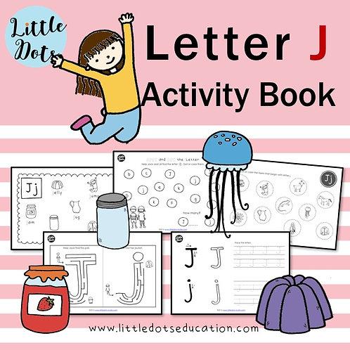 Letter J Activity Book