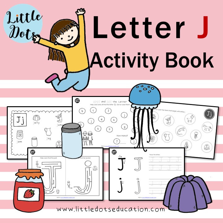 Letter J worksheets and activities