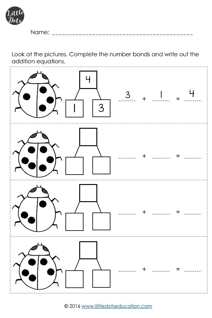 Little Dots Education Preschool Printables And Activities Number
