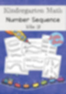 Number sequence worksheets and activities for kindergar