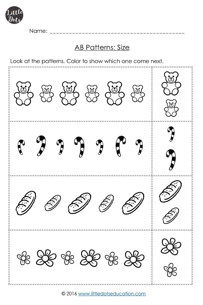 Little Dots Education | Preschool Printables And Activities | Pre