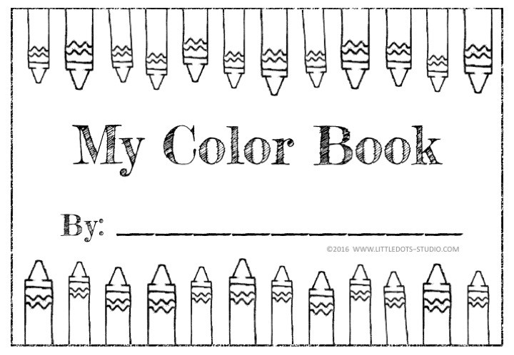 Color Book for Pre-K