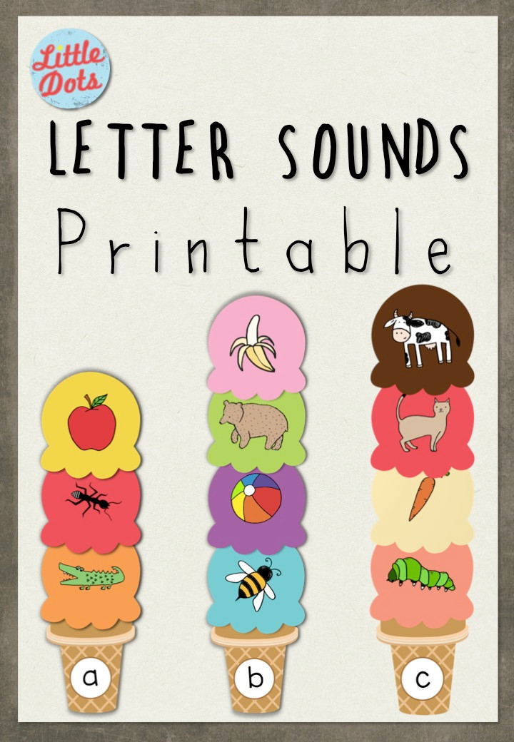 Free letter sounds printables