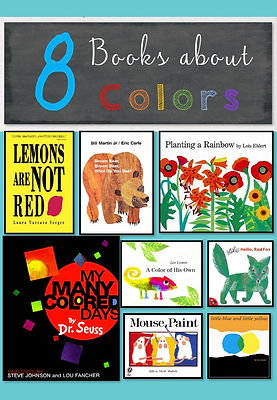 Books on colors for preschoolers, colors book, book list on colors