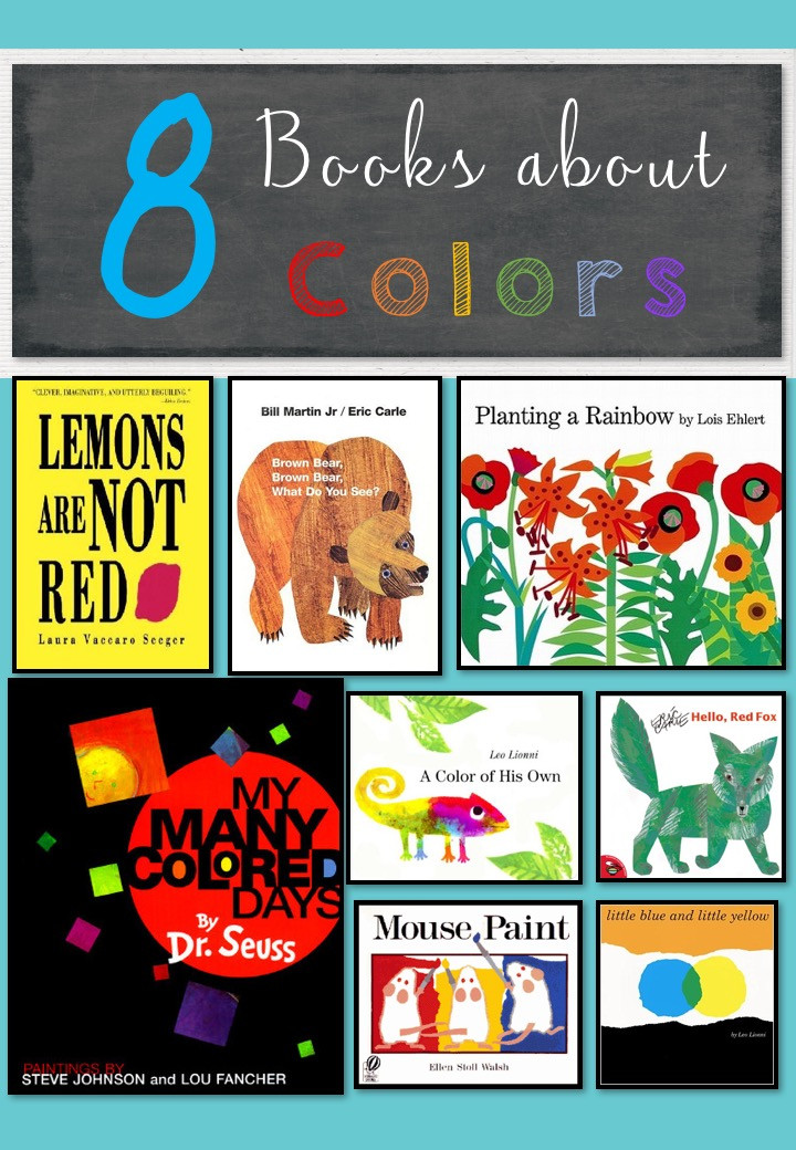 Little Dots Book List on Colors