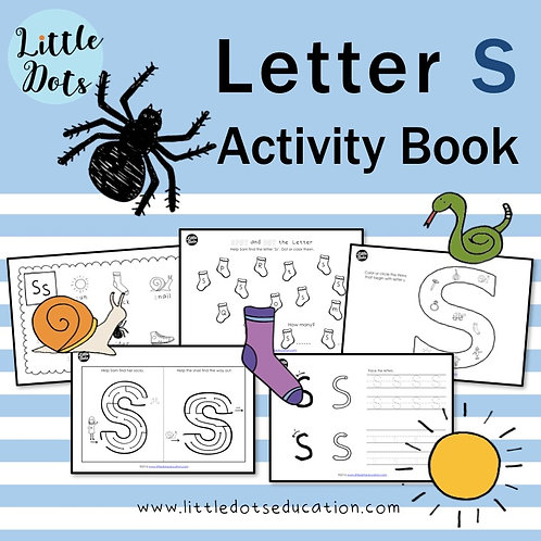 Letter S Activity Book