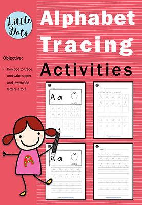 Alphabet Tracing Activities