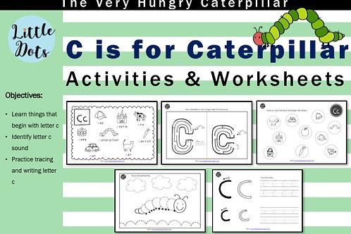 The Very Hungry Caterpillar Literacy Activities