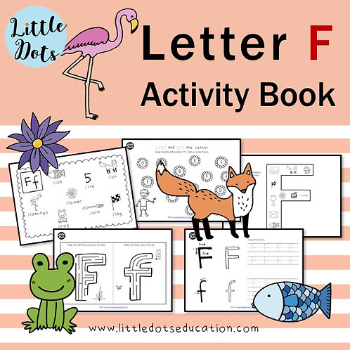 Letter F Activity Book