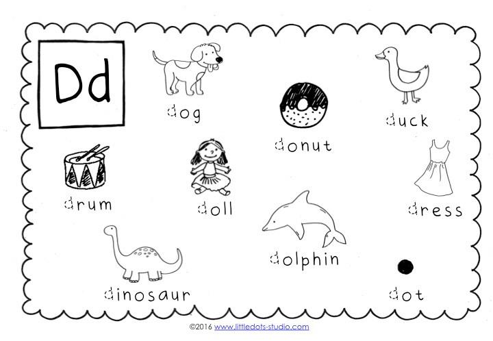 Preschool Letter D Activities And Worksheets