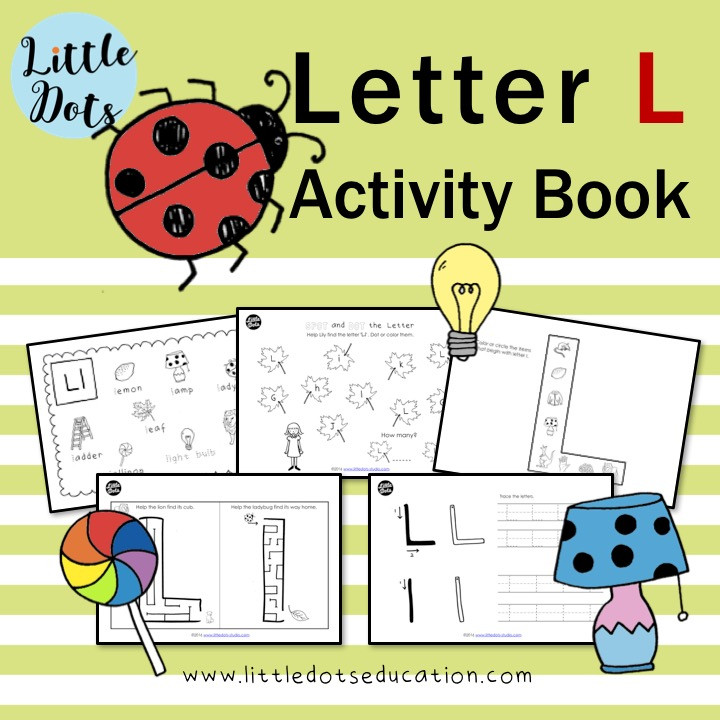 Letter L worksheets and activities