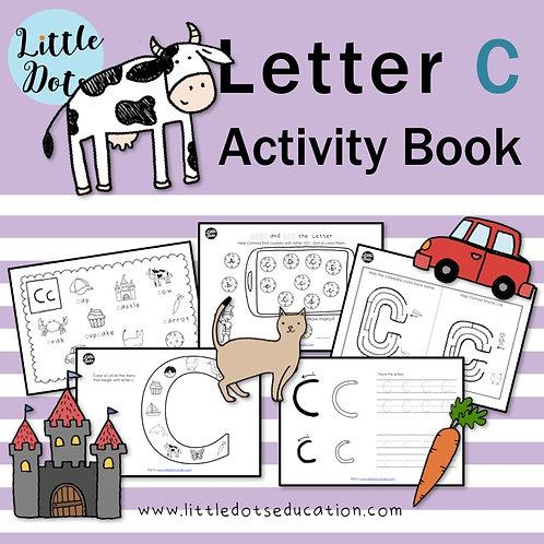 Letter C Activity Book