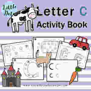 Letter C Workbook