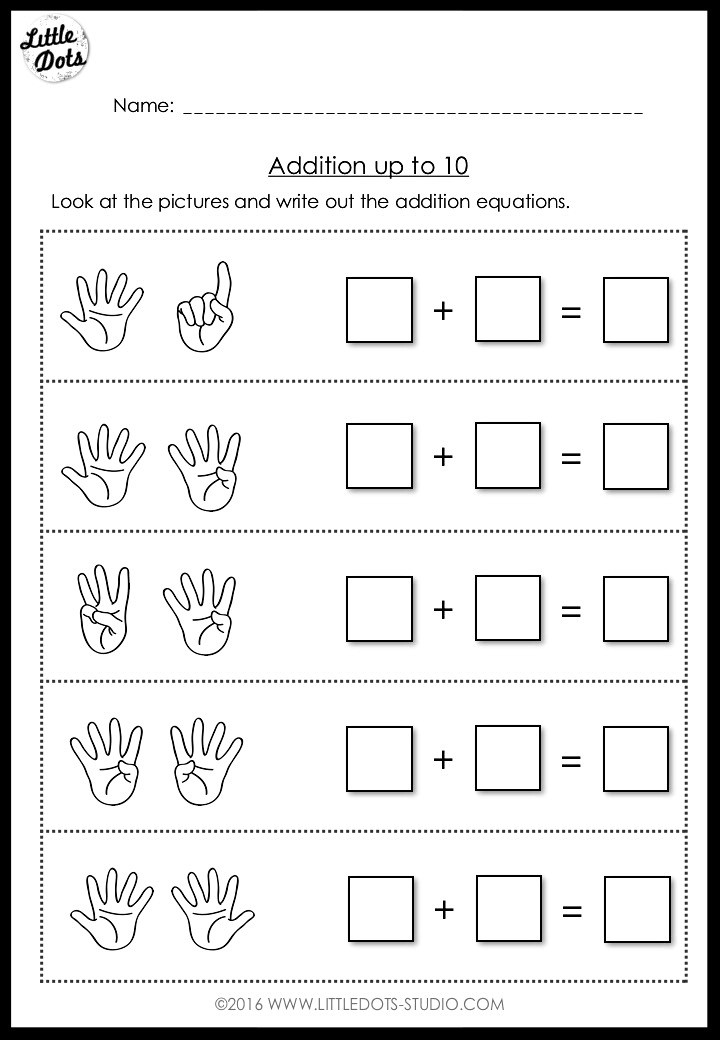 addition activity