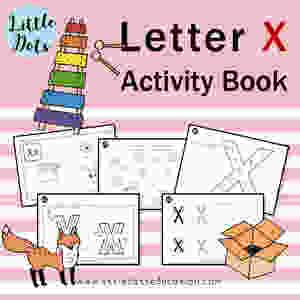 Letter X Workbook