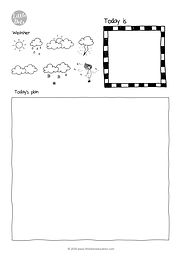 Preschool journal free printable