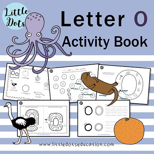 Letter O Activity Book