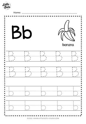 free letter b tracing worksheets. Black Bedroom Furniture Sets. Home Design Ideas