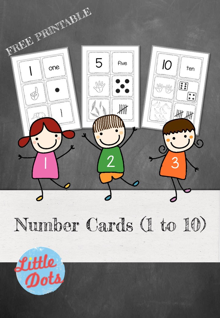 Free Number Cards Printable