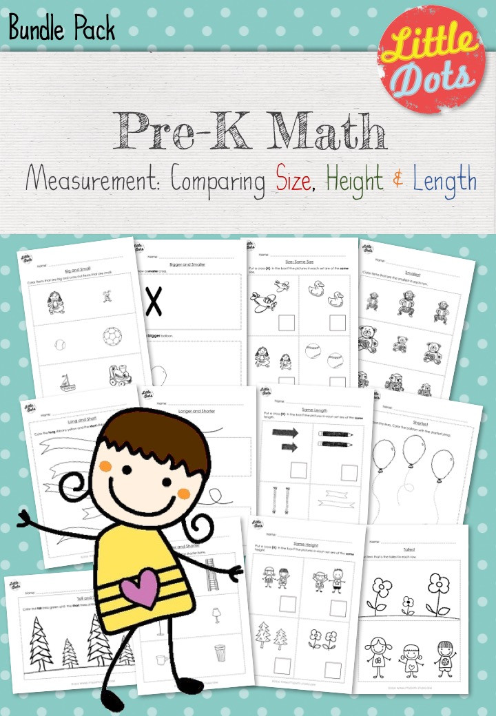 Measurement Workbook for Pre-K