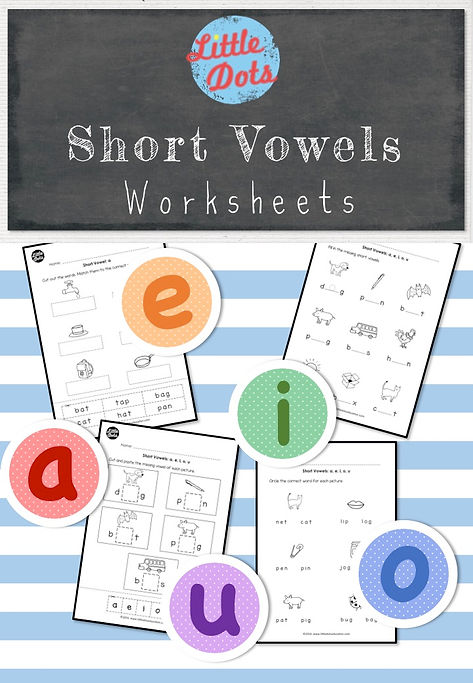 graphic regarding Printable Short Vowel Games referred to as Limited Vowels (Heart Appears) Worksheets and Pursuits