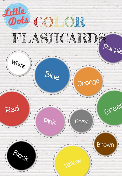 picture relating to Create Printable Flashcards titled Absolutely free Shade Flashcards Printable
