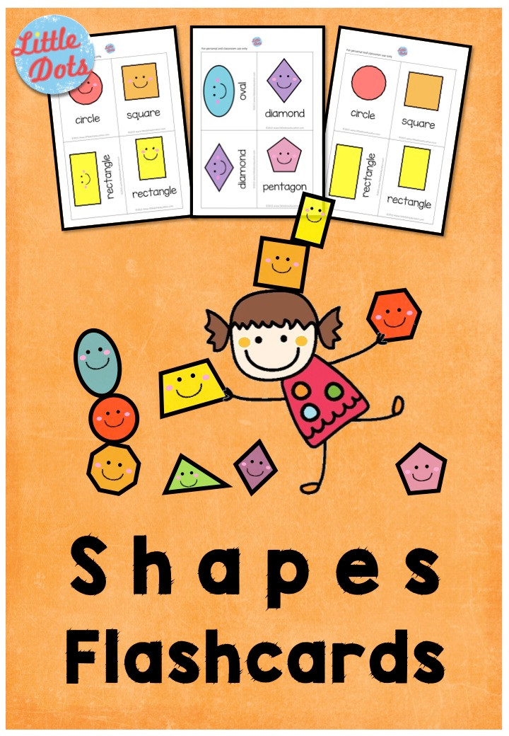 Free Shapes Flashcards