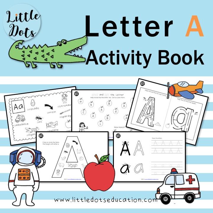 Letter a activities for preschool