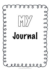 preschool journal printable