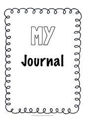 preschool journal printable