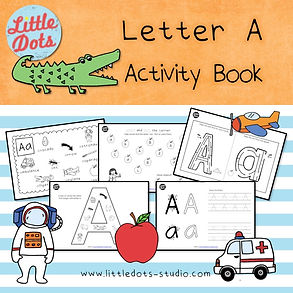 Preschool letter a activities and worksheets. It includes letter a poster, spot and dot the letter a activity, letter a maze, letter a beginning sound worksheets and letter a tracing activities.