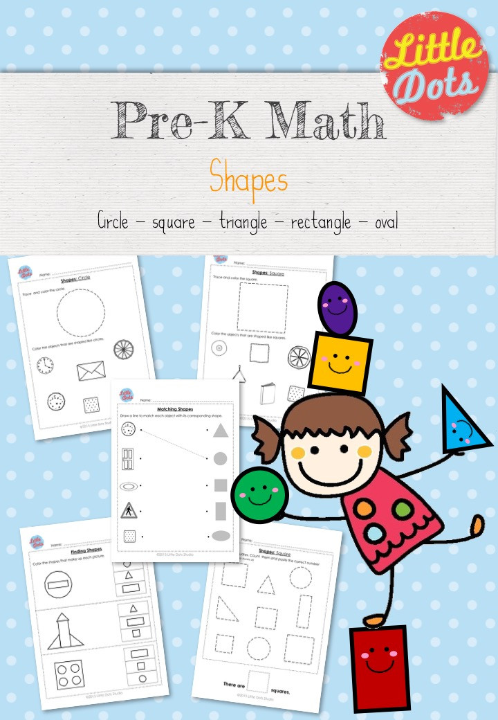 Shapes Workbook for Pre-K