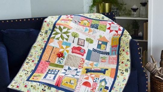 Kimberbell Make Yourself at home Fabric Kit