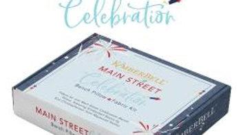 Main Street Celebration Bench Pillow fabric kit PRE ORDER