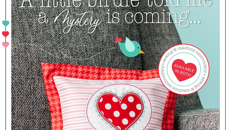 A Little Birdie Told Me Pillow Fabric Kit