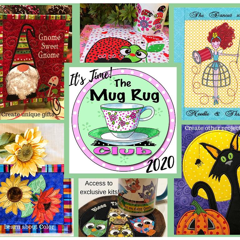 Mug Rug Club 2021 (Desiree's Designs)