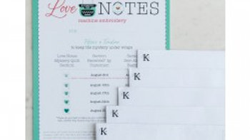 Embroidery Version Love Notes Mystery Quilt