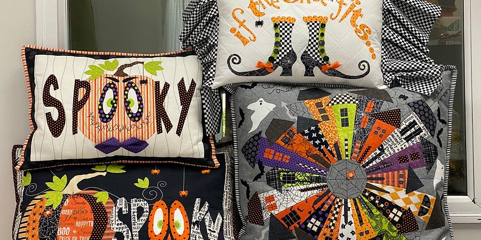 Patti D halloween Pillows