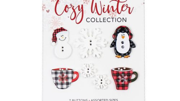 Cozy Winter Buttons