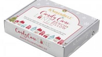 Candy Cane Lane Bench Pillow Fabric Kit Pre Order