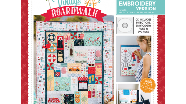 Vintage Boardwalk Embroidery Version