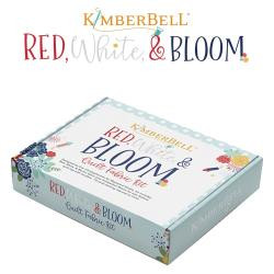 Kimberbell Red White and Bloom