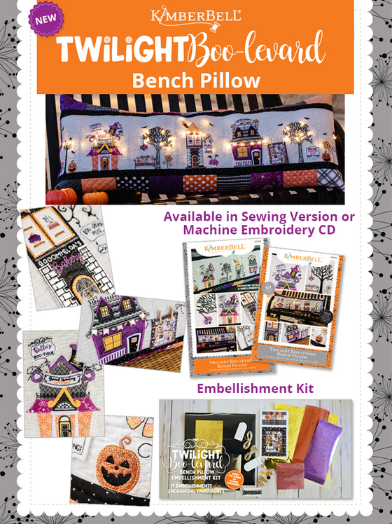 NEW!! Twilight Boo-Levard Bench Pillow