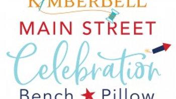 Main Street Celebration Bench Pillow Embellishment Kit PRE ORDER