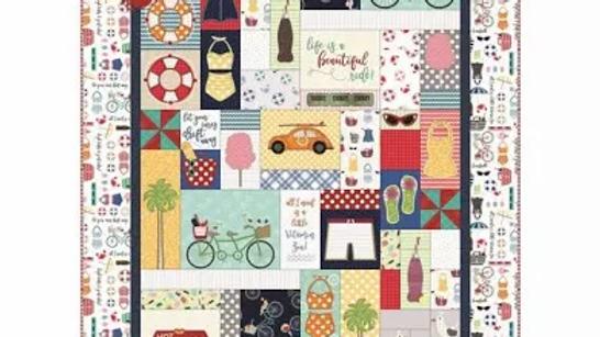 Vintage Boardwalk Fabric Kit