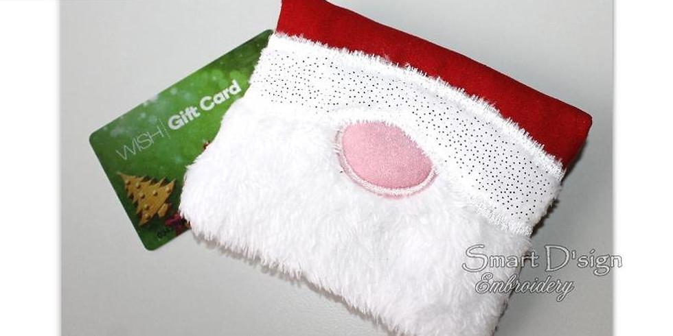 ITH Santa Gift Card Holder
