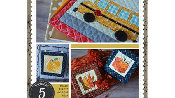 Machine Embroider by Number Autumn Collection