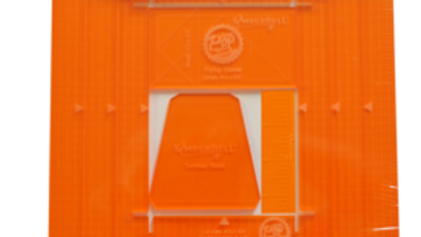 ORANGE POP RULERS, RECTANGLE SET